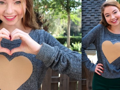 DIY: Heart Sweater + How to Style!