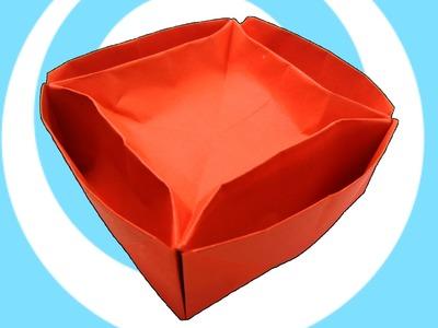 DIY: Origami Lazy Susan Dish Tutorial