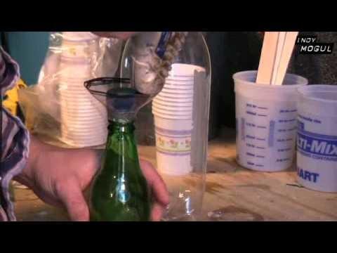 Fake Glass Bottles, How To Sugar Glass : Backyard FX