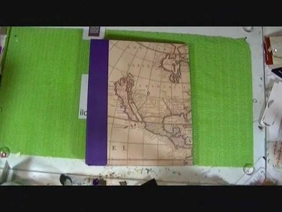 Homemade Smash Book and Travel Bag