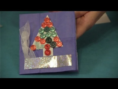How Do I Create Christmas Cards Using Recycled Materials? : Christmas Crafts