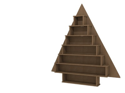 How to Construct Kaisercraft Large Tree Advent Calendar (SB2206)