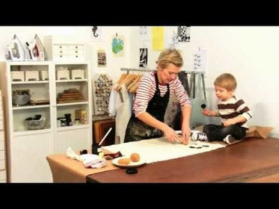 How to do Potato Printing with Lotta Jansdotter
