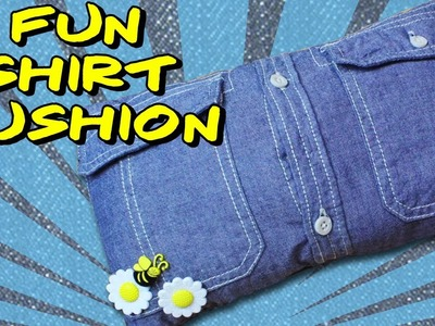 How To Make A Fun Shirt Cushion | Craft Ideas For Children