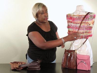 How to Shorten a Long Handbag Strap : Handbag Ideas