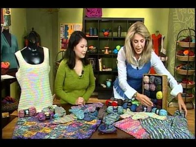 Knitting Daily TV Episode 605's How-To Segment with Deborah Norville, Premier Yarns