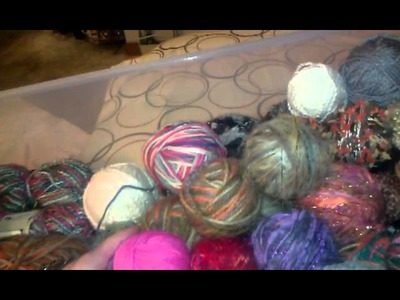 LEARN 2 CROCHET BARBIE STYLE PT 2: YARN BALLS.ECT!