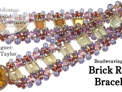 """Make our """" Brick Road """" Bracelet"""