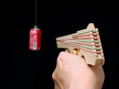 Nicked Ramp-Releaser, 8 rounds Rubber Band Hand Gun. oggcraft.jp