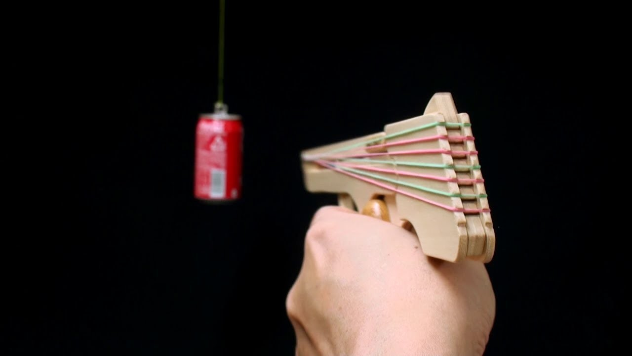 Nicked Ramp-Releaser, 8 rounds Rubber Band Hand Gun. oggcraft.jp