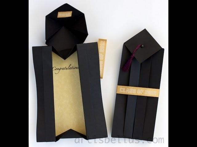 Origami Graduation Card