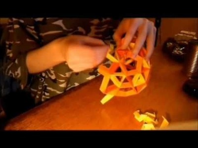 Origami Snub Dodecahedron
