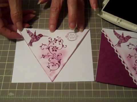 Scallop Lace Front Card Technique