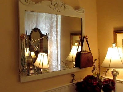 Shabby Chic Jewelry display - DIY