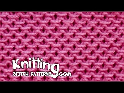Slip Stitch Honeycomb