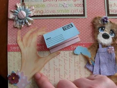 Tear Bear layouts 12x12 premade scrapbook pages