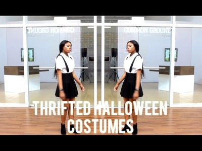 Thrifted DIY Closet Halloween Costumes