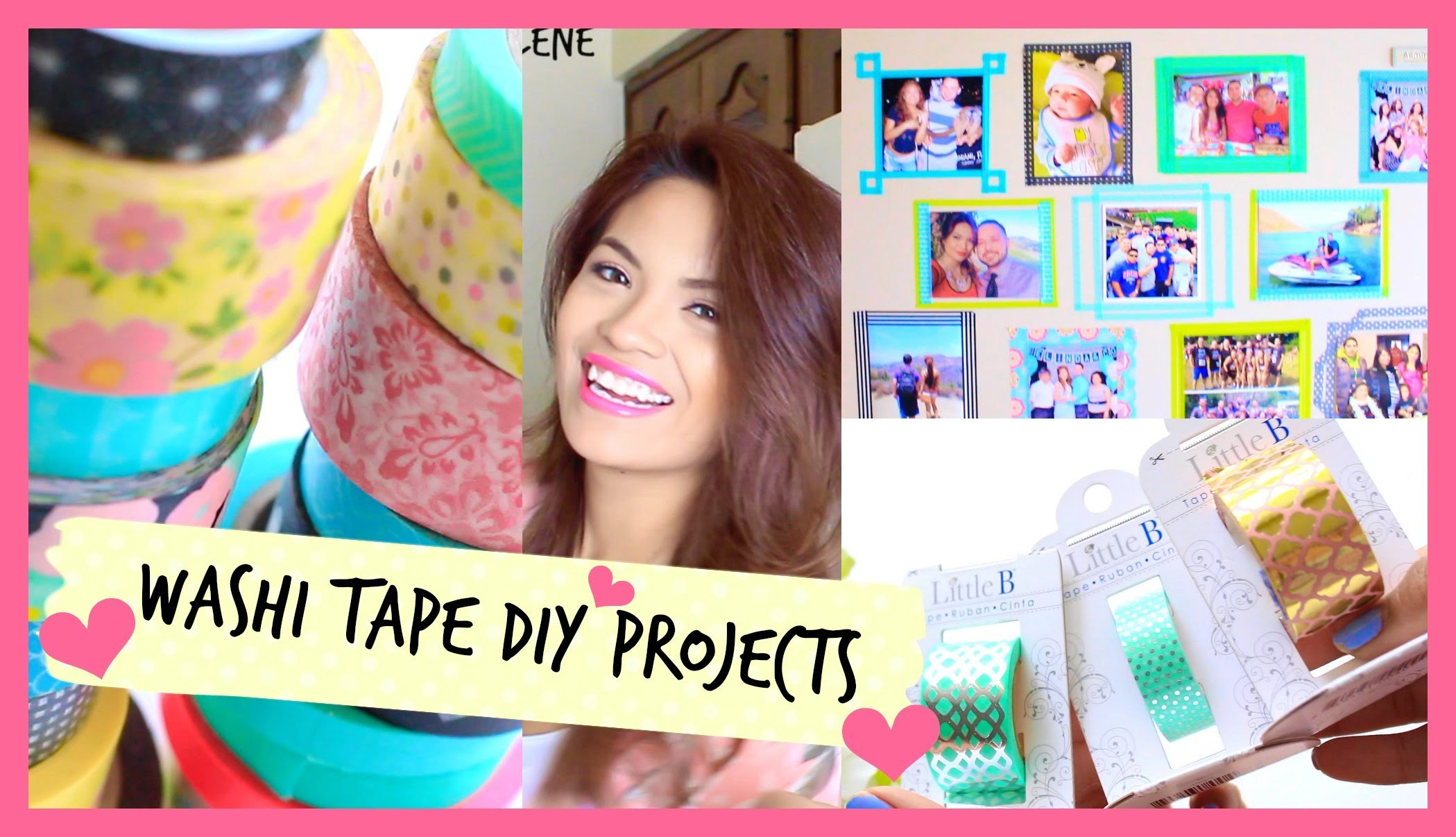 Washi Tape DIY's | Belinda Selene