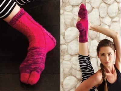 #14 Colorblock Socks, Vogue Knitting Winter 2013.14