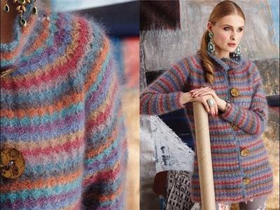 #18 Crocheted Jacket, Vogue Knitting Crochet 2014
