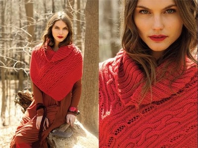 #6 Zippered Cape, Vogue Knitting Early Fall 2011