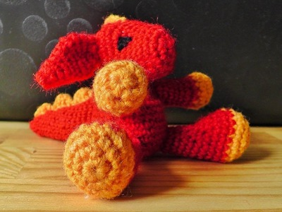 Amigurumi dragon crochet pattern part 1