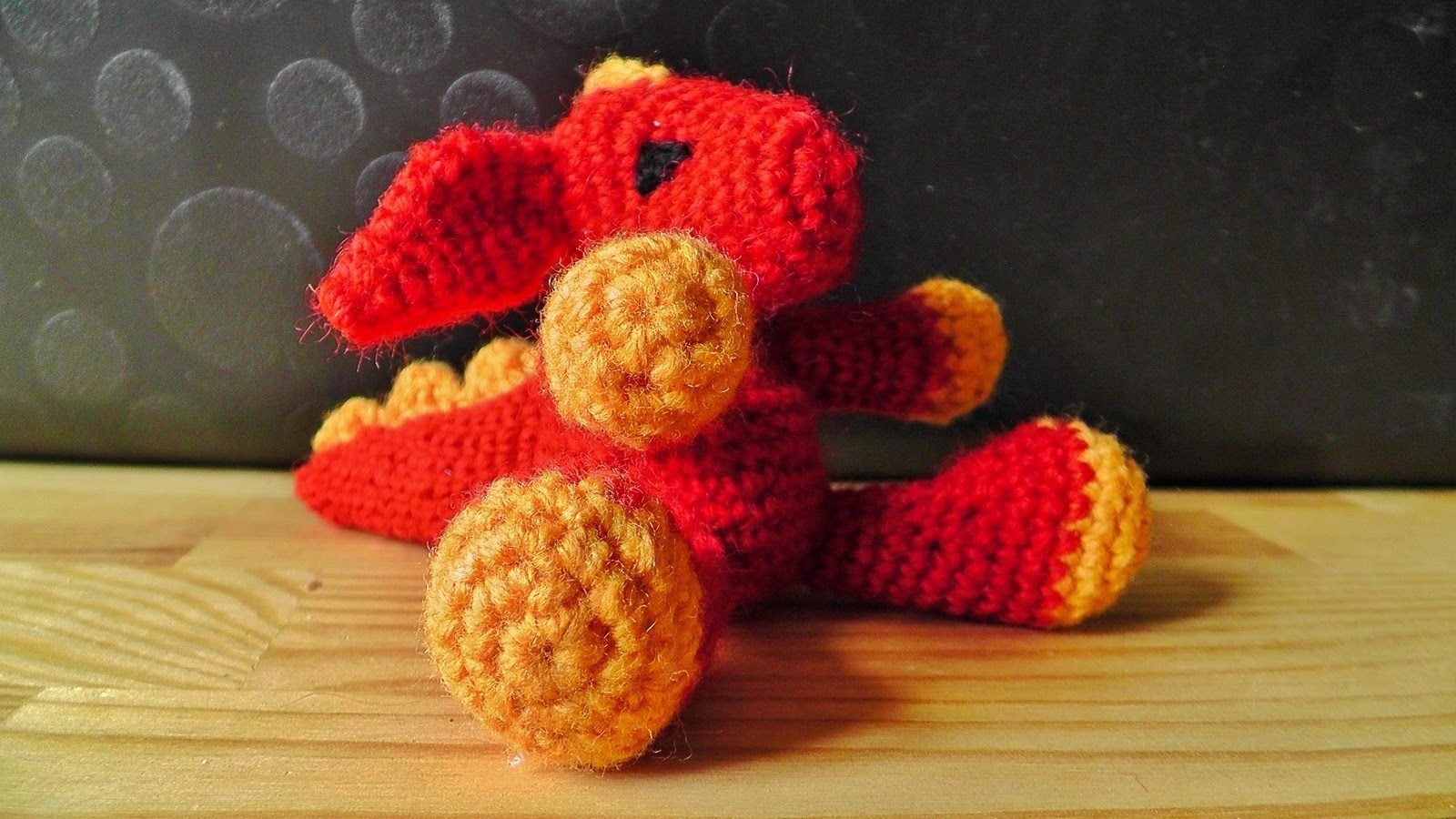 Amigurumi dragon crochet pattern part 1