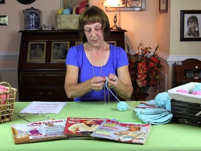 Continental Knitting for Beginners 2—Purl Stitch The Oma Way