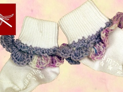 CROCHET BABY SOCK EDGING Crochet Geek