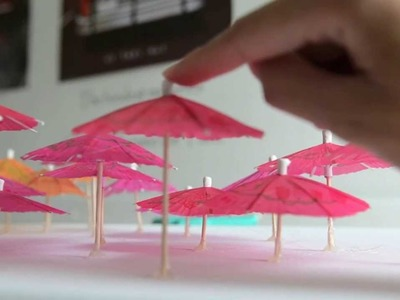 DIY Apartment.Room Umbrella Wall Decor (Gift Idea)