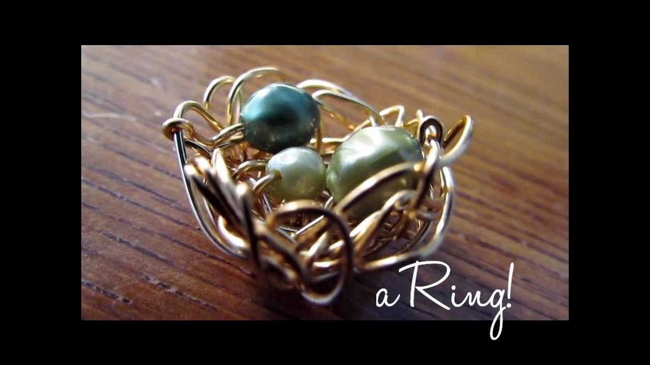 DIY: Bird Nest Ring