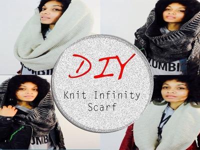 DIY Infinity Scarf #DIYGawd