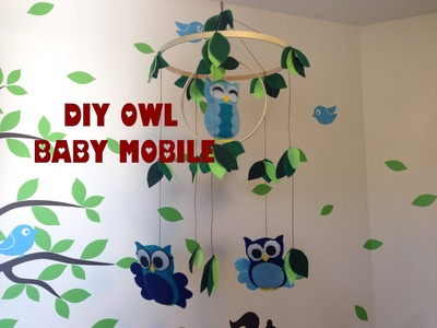 DIY Owl Baby Mobile for less than $10