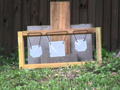DIY pellet plinker target for less than $5