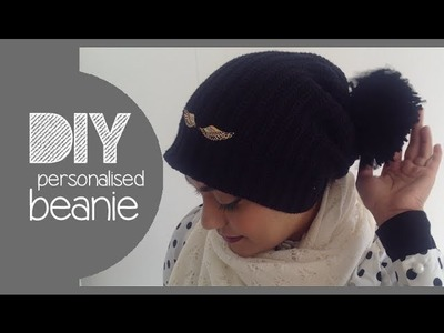 DIY│personalised beanie