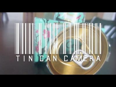 DIY Pop Can Camera