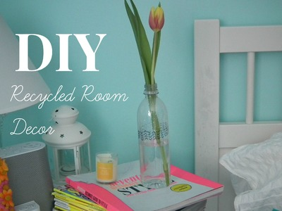 DIY: Recycled Room Decor