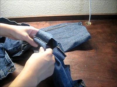 DIY Side Bow Pants
