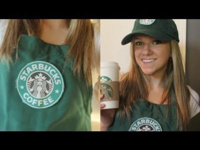 DIY: Starbucks Barista Halloween Costume