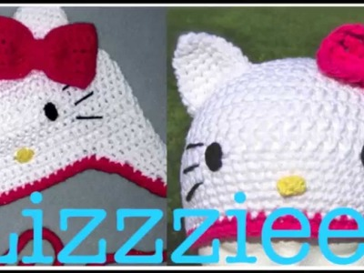 Free Kitty Crochet Hat Pattern by Lizzziee