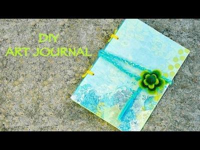 Handmade Creative Art Journal *Super Cute!*