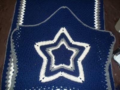 How 'Bout Them Cowboys -- SHOW & TELL: Crochet Cowboys Blanket