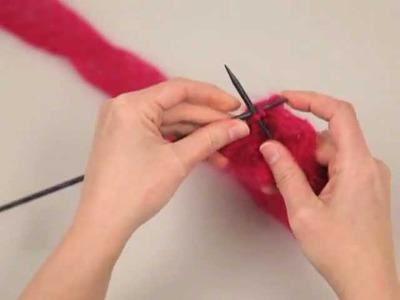 How to Knit a Rowan Kidsilk Creation Ruffle Scarf