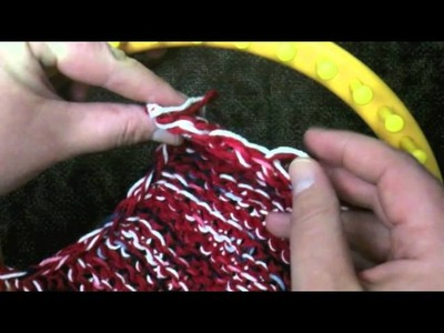 How to Loom Knit a Mesh Bag Part 1 of 4