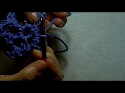 How to Make a Felted Crochet Flower Day 48 Part 2