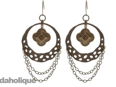 How to Make the Bangalore Detail Earrings by Vintaj