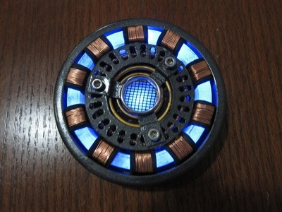 Iron Man Arc Reactor, DIY Wearable, Detailed Tutorial