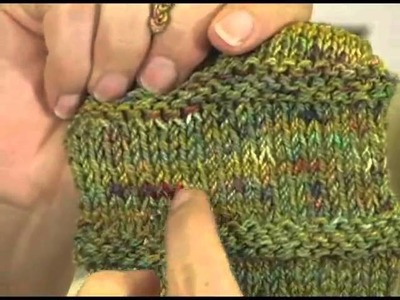 Knitting Instructional Video: Hand Dyed Yarn Techniques