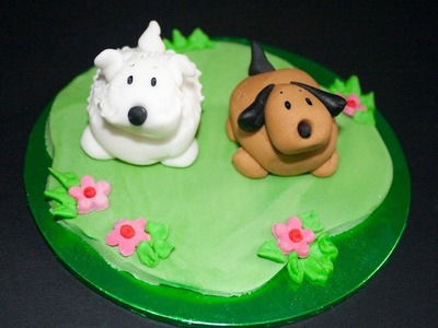 Learn to make adorable dogs with sugarcraft expert Ann Pickard