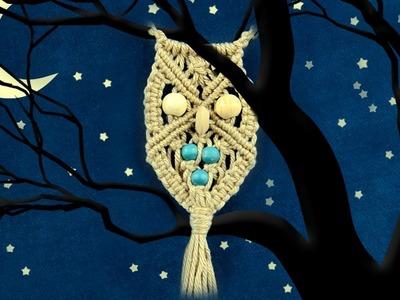 Macramé Owl - Necklace (DIY)
